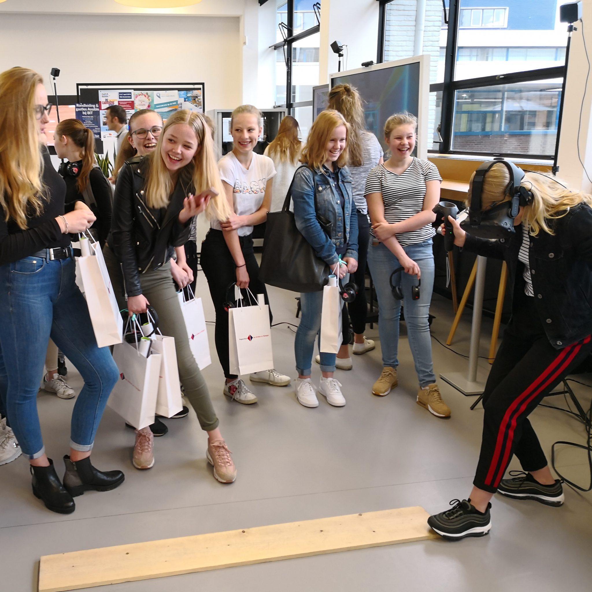 han - Virtual Reality op school in Nijmegen